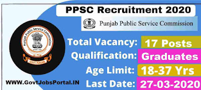 Public Service Commission Recruitment 2020 : PPSC Functional Manager Vacancy 2020