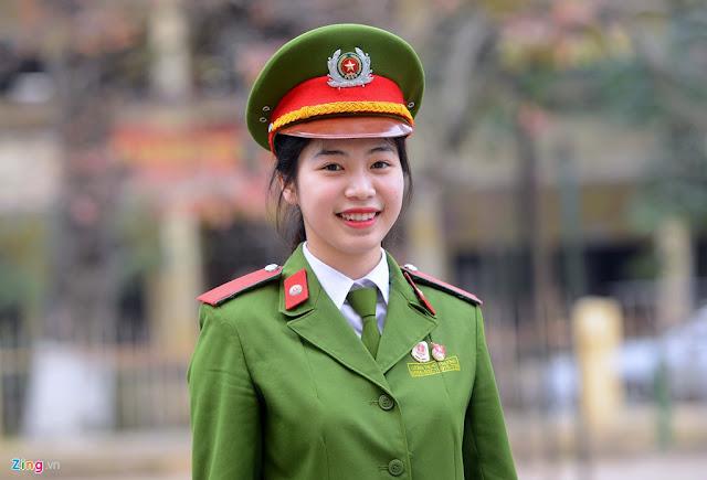 Nu Canh sat xinh dep 4 - Tổng Hợp các HOT Girl Nữ Cảnh Sát đốn tim FAN nhất Việt Nam
