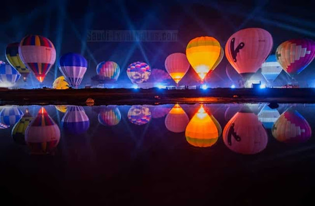 Al Ula's Guinness World Record for Longest Hot Air Balloon Glow Show