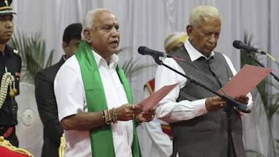 BS Yediyurappa appointed CM of Karnataka for the 4th term
