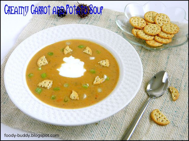 CARROT AND POTATO SOUP