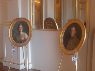 Portraits Art Royal Palace Brussels Belgium