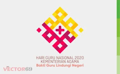 Hari Guru Nasional 2020 Kemenag Logo - Download Vector File CDR (CorelDraw)