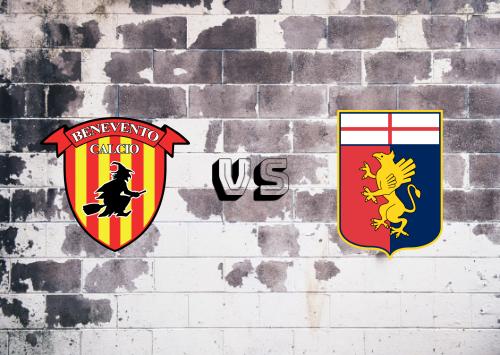 Benevento vs Genoa  Resumen
