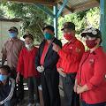 Fraksi PDIP Mahulu Menyerahkan Bantuan Logistik Dibeberapa Titik Pos Wasdalkes, Pastoran Dan Susteranpun Dapat Bantuan