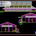 مخطط مشروع قاعة رياضية هياكل معدنية بجميع التفاصيل اوتوكاد dwg