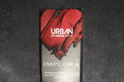 Review Lipcream Matte Implora no. 01 Dusky Nude