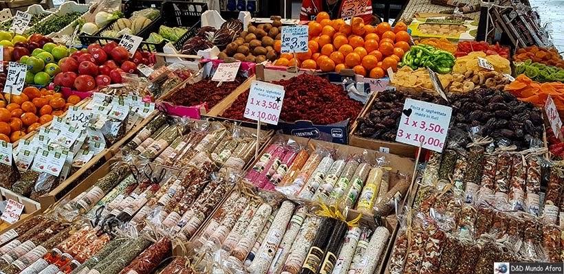 Mercado Rialto - O que fazer em Veneza