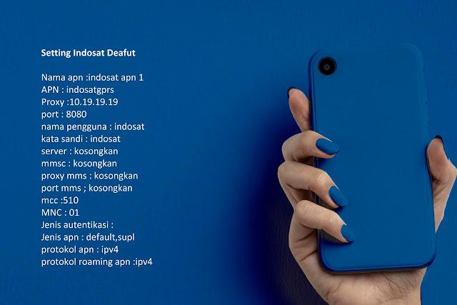 Setting Indosat Deafut