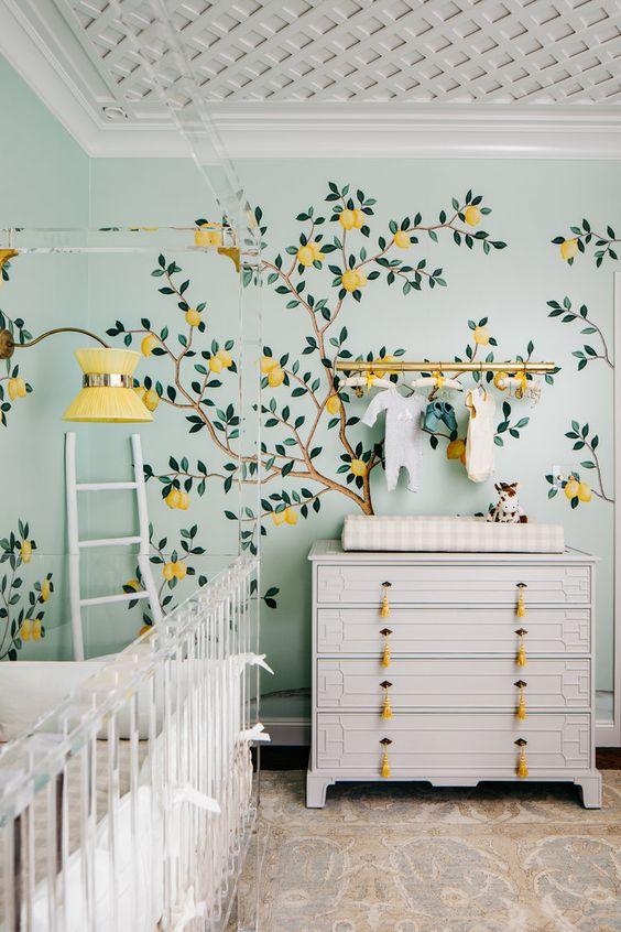 sarı duvar kağıdı