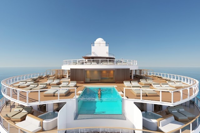 NORWEGIAN PRIMA MARKS FLOAT OUT - THE NEW SHIP OF NORWEGIAN CRUISE LINE
