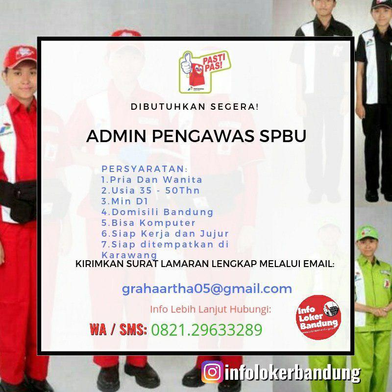 Di Butuhkan Segera Admin Pengawas SPBU Untuk ditempatkan di Karawang