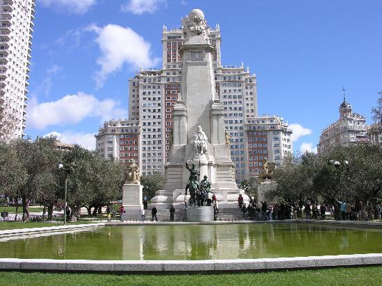 Bairro Princesa em Madri