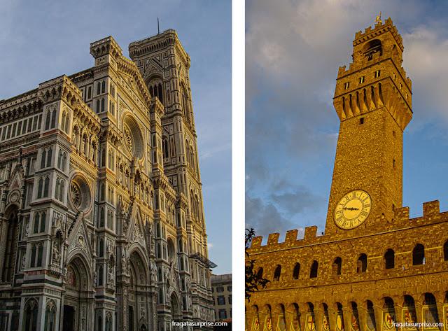 Catedral de Florença e Palazzo Vecchio