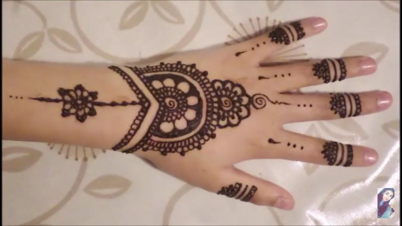 Be Fabulous101 14 Simple Amp Easy Henna Design Which You Can Make