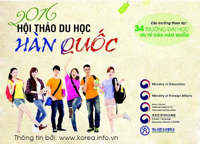 Triển lãm giáo dục Hàn Quốc 2016