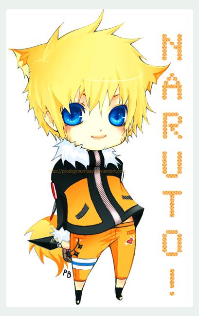 Naruto  Naruto Chibi Lucu
