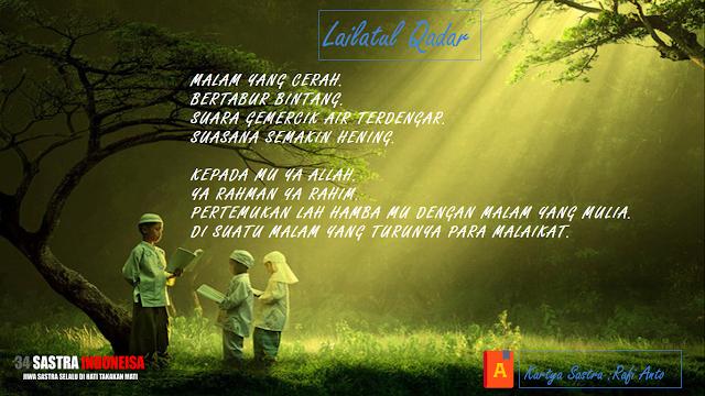 "Puisi Agama Islami ""Lailatul Qadar"" | 34 Sastra Indoneisa"