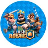 Oblea para tartas Clash Royale