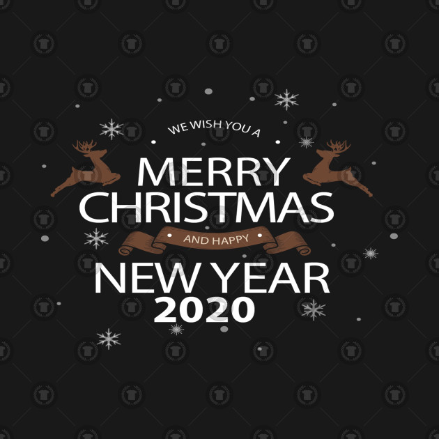 We Wish You A Merry Christmas And Happy New 2020 Year Merry Christmas and Happy New Year 2020 Images, Wallpaper & Wishes