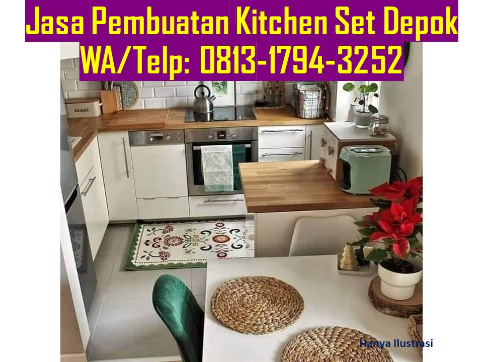 Jasa Pembuatan Furniture Kitchen Set Minimalis Di Jakarta Selatan