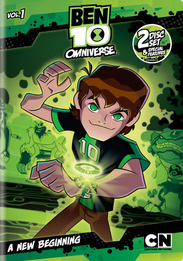 Ben 10: Omniverse Temporada 01 Audio Latino
