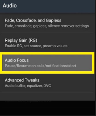 Poweramp Audio Settings