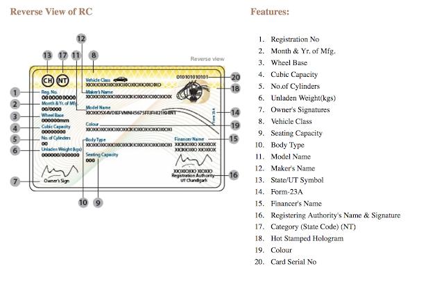 RC Information (RC Status)