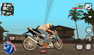 Satria FU New Edition DFF Only GTA SA Android