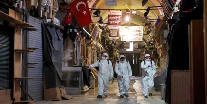 FAZ: Ψέματα Ερντογάν για τα κρούσματα κορωναϊού