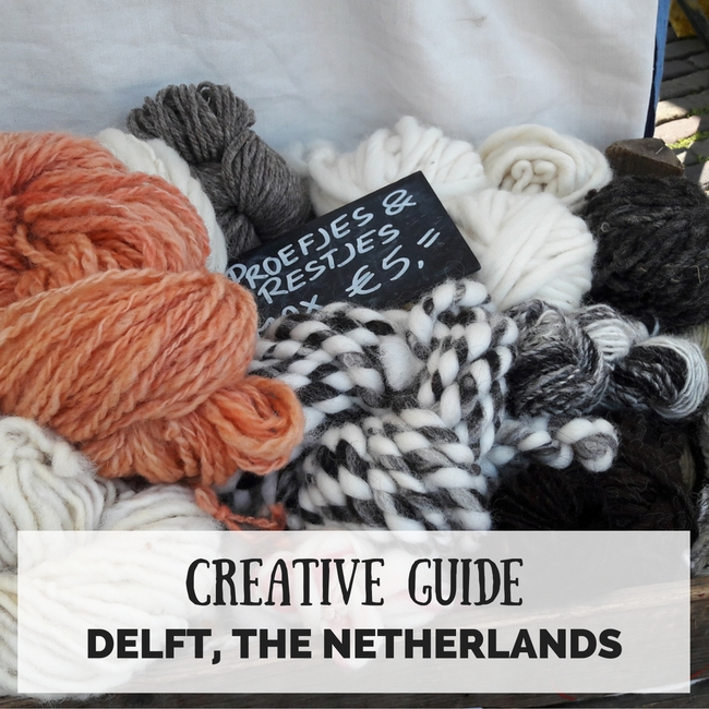 Creative Travel Guide: Delft, The Netherlands | Happy in Red