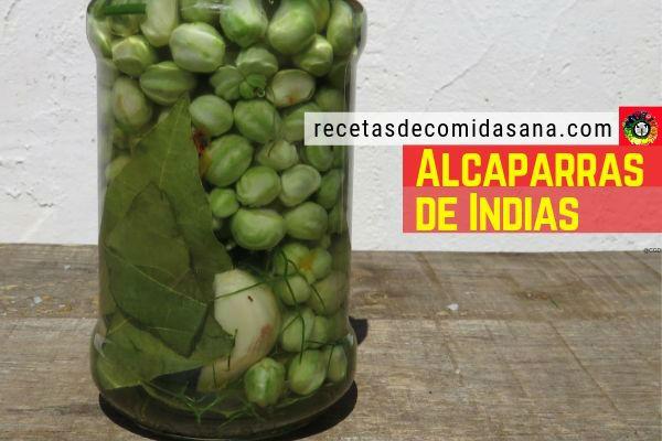 Conserva de alcaparras de indias, en el siguiente vídeo te enseñamos cómo se hace.