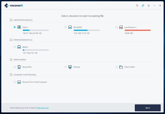 تحميل برنامج استعادة الملفات المحذوفة من الكمبيوتر عربي مجانا 2020