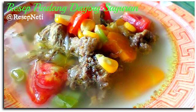 resep pindang daging sayuran di dapur kusNeti