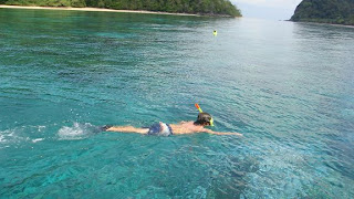 Snorkelling in Koh Rok - Popular day tour destination from Koh Lanta