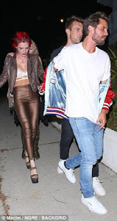 Scott Disick and Bella Thorne party