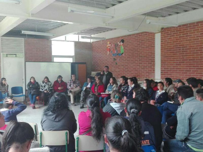 ADE, se reúne, escucha y se solidariza con la comunidad del Sumapaz ante el abandono de la Alcaldía