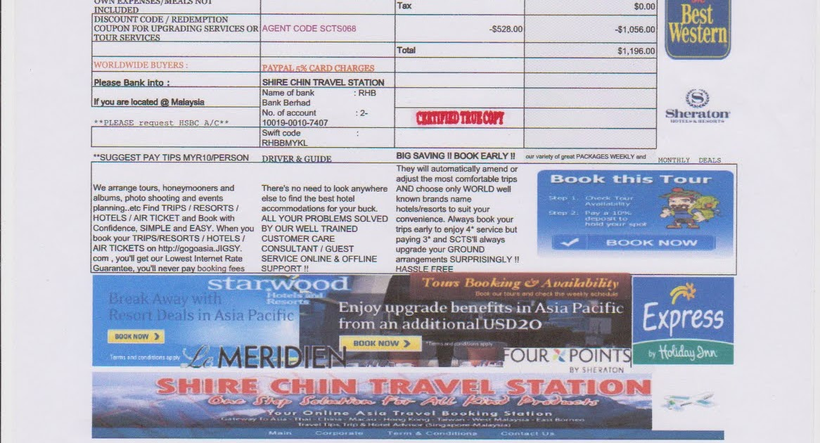 Online Booking Go Travel