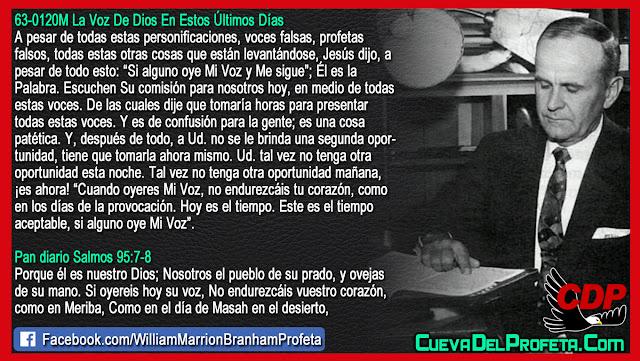 Si alguno oye Mi Voz SIGAME - William Branham en Español