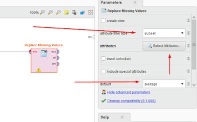 Rapidminer Handling Missing Data