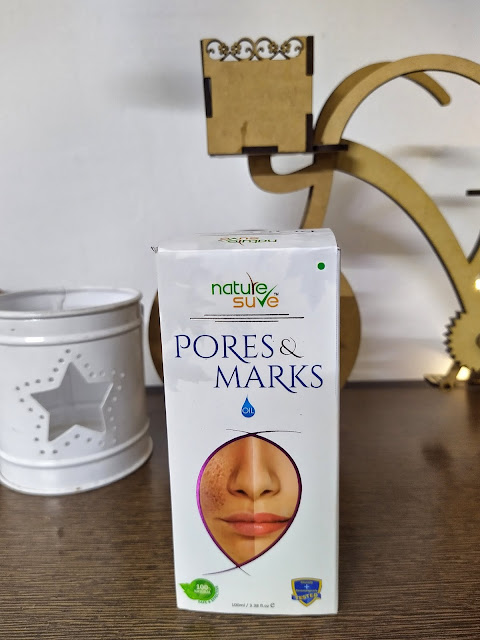 Nature sure pores and marks cream