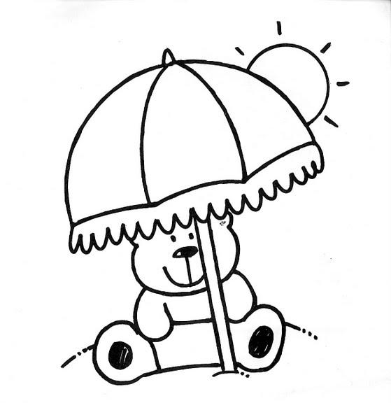 Dibujos Infantiles: Dibujo Infantil Verano