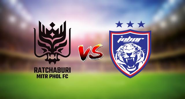 Live Streaming Ratchaburi FC vs JDT FC 25.6.2021 AFC Champions League