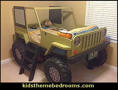 Kids Truck Bed Plans