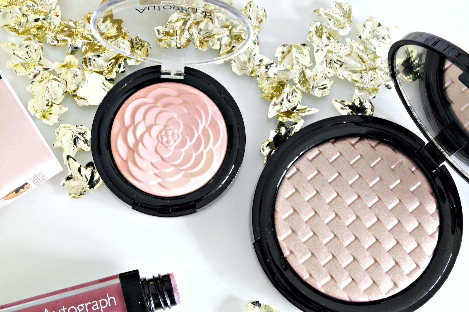 M&S makeup, luxe blusher and highlighter