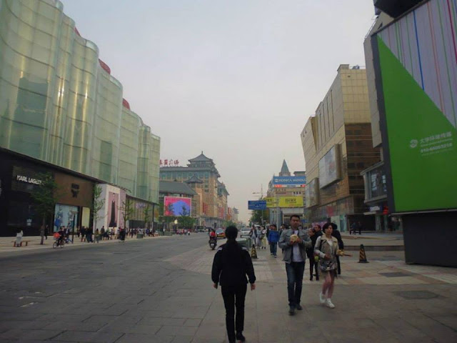 Calle peatonal Wangfujing (Beijing)