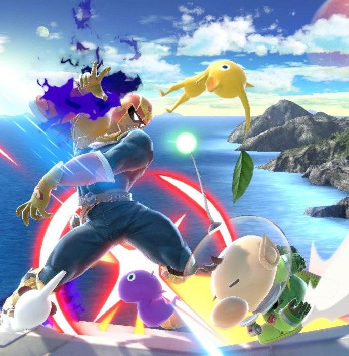 Old Neko Things I Like Captain Olimar Super Smash Bros Ultimate