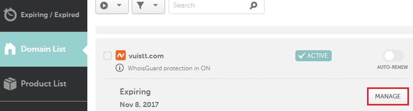Tạo subdomain cho tên miền đăng ký trên namecheap