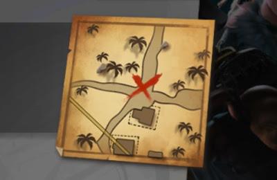 Lokasi Peta Harta Hari ke 21 Map Purgatory Free Fire
