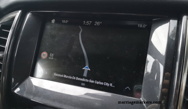 Ford Philippines - pickup trucks Ford Media Drive Bacolod - Ford Ranger pickup review - Ford Ranger Wildtrak - Ford Ranger XLT - Ranger Raptor - road trip - Bacolod blogger - Don Salvador Benedicto - dashboard - climate control - GPS